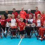 Athletes of England Para-Badminton squad
