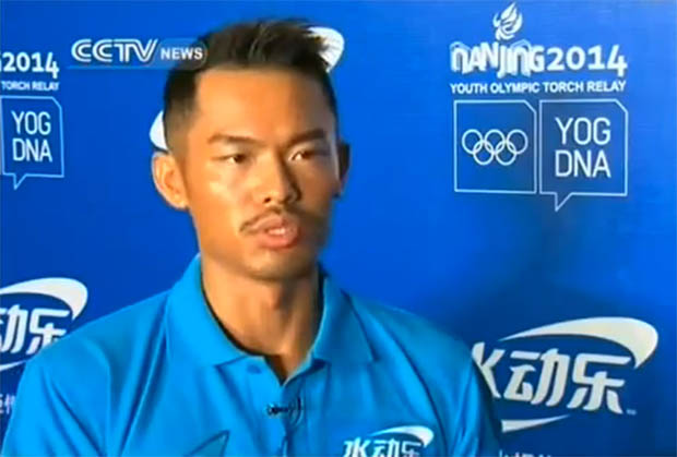 Exclusive interview with Lin Dan before the opening ceremony of Nanjing Youth Olympics