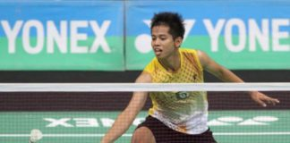 Mohd Arif Abdul Latif used to be able to defeat Chen Long of China, but things that are completely opposite now