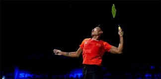 Lin Dan at Denmark Open