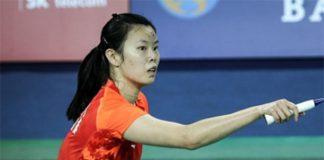 Li Xue Rui is going strong in Denmark Open