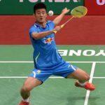 Chen Long plays Son Wan-ho in the Denmark open final