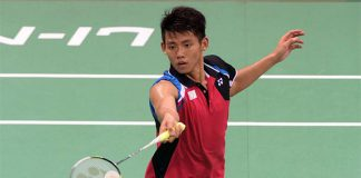 Chou Tien Chen continues giant-killing run at French Open