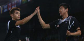 Tan Wee Kiong (left) - Goh V Shem suffer French Open exit on Friday