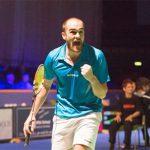Scott Evans into the semi-finals of the 2014 Bitburger Open