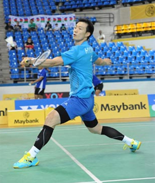 Lee Hyun-il is probably trying to qualify for the Rio Olympics