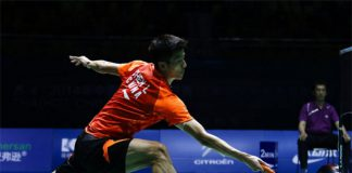 Chen Long is the top favorite at Hong Kong Open