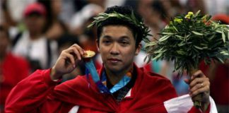 Taufik Hidayat takes the badminton doping incident seriously