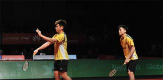 Tan Boon Heong (right) and Tan Wee Kiong have been pretty stable in their lastest two matches