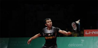 Chong Wei Feng suffers a tough loss in the semi-finall of Axiata Cup