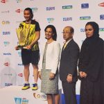 Tai Tzu Ying with her Superseries Finals trophy