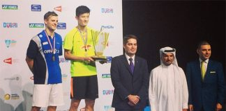 Chen Long clinches BWF World Superseries title in Dubai after beating Hans-Kristian Vittinghus