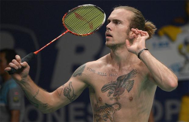Jan Jorgensen is the darling of badminton :-)
