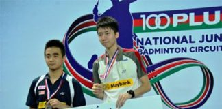 BAM should start giving young shuttler such as Lim Chi Wing (right) more exposure at the senior level tournament