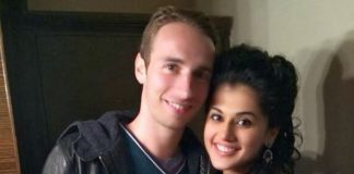 Danish badminton player Mathias Boe and his girl friend Indian actress Taapsee Pannu