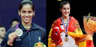 Saina Nehwal and Carolina Marin are tournament favorites at the Syed Modi GP