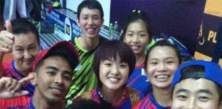 Muar City players taking selfies. Congratulations! (photo: Muar Cit FBy)