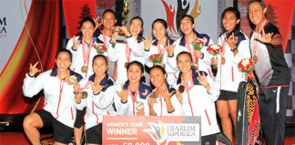 Congratulations to Jaya Raya Jakarta women's team for winning their third Djarum Superliga title (photo: PBSI)