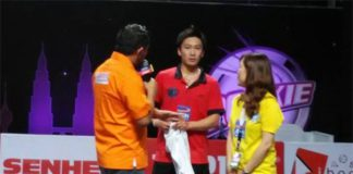 Kento Momota has been a fan favorite at the Purple League (photo: Purple League)