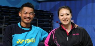 Lin Dan and Xie Xingfang are badminton's power couple