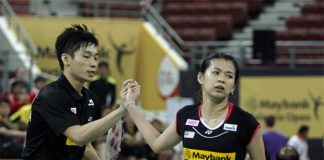 Chan Peng Soon / Goh Liu Ying used to form a formidable pairing in mixed doubles