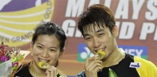 Wish Goh Liu Ying/Chan Peng Soon (right) the best as they compete in the upcoming Swiss Open that starts March 10-15