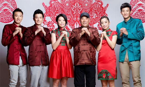 Zhang Nan, Cai Yun, Li Xuerui, Li Yongbo, Wang Shixian, Chen Long (from left) wish everybody a Happy Chinese New Year!