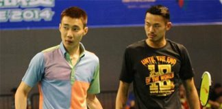 Lin Dan-Lee Chong Wei (left) rivalry is one of greatest ever in badminton. Hope to see them play against each other soon.