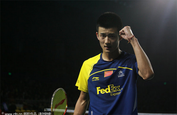 Chen Long is the 1st seed at 2015 All England
