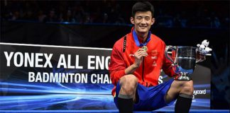 Congratulations to Chen Long!
