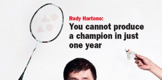 No one can beat Rudy Hartono's record of winning 8 All England titles, not even Lin Dan (photo: Tempo)