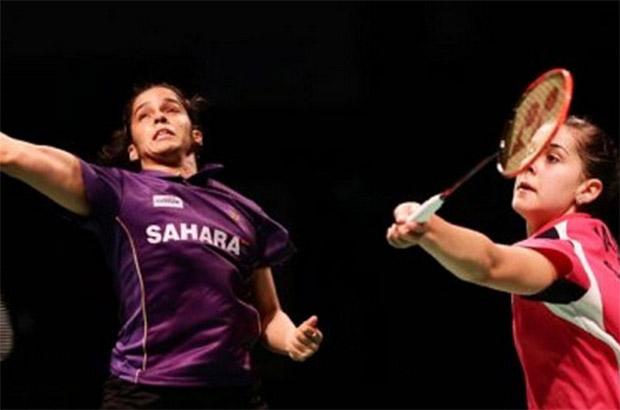 Saina Nehwal (left) and Carolina Marin could play their way into the world No.1 spot at the India Open Super Series.