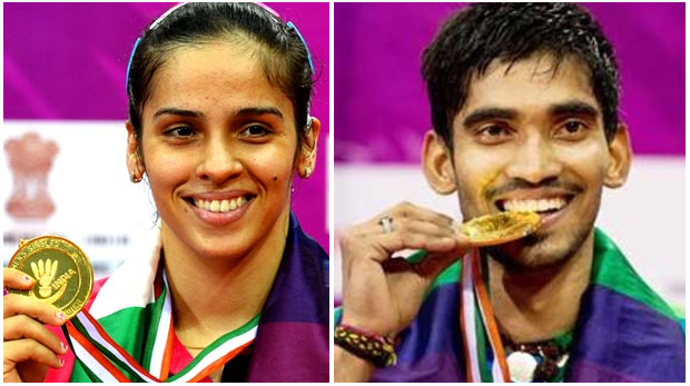 Congratulations to Saina Nehwal, Kidambi Srikanth for winning their maiden India Open title (photo: AFP)