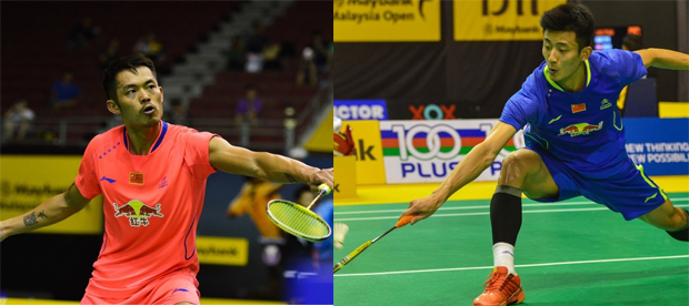 Lin Dan to clash with Chen Long in Malaysia Open final