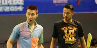 The whole badminton world is waiting for the return of Lee Chong Wei (left)