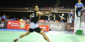 The defending Singapore Open champion, Simon Santoso of Indonesia. (Photo: OUE Singapore Open 2015)