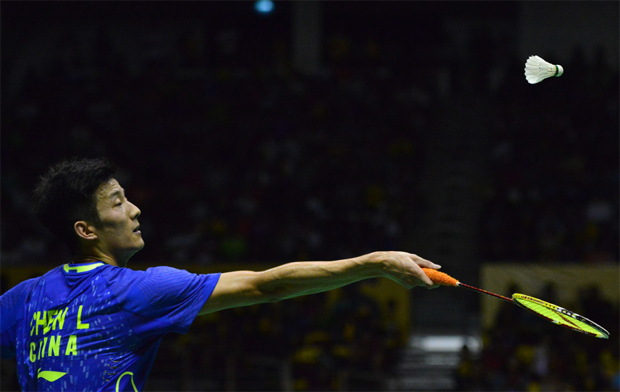 World no. 1 Chen Long crashes out of Singapore Open
