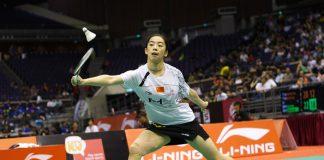 Wang Shixian is on course to win the Singapore Open