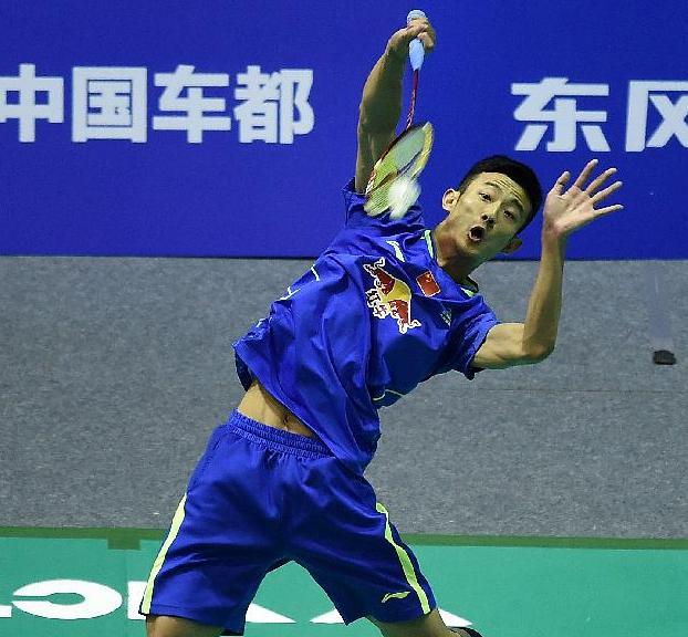 Chen Long could meet Lin Dan in the final of Badminton Asia Championships