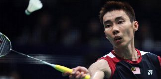 Wish Lee Chong Wei good luck!