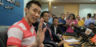 Can't wait to see Lee Chong Wei play again. (photo: Reuters)