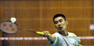 Lee Chong Wei returns to train with the Malaysian team on May 1st. (photo: Bernama)