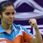 Saina Nehwal provides a strong advantage for India in women's singles category at the Sudirman Cup.