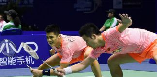So happy to see Cai Yun and Fu Haifeng (left) playing side-by-side again.