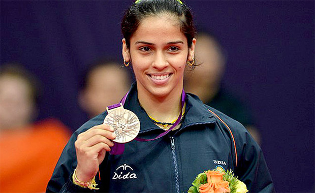 Saina Nehwal is an influential female athlete in India.