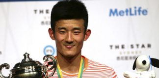Chen Long was taken to three games before downing Denmark`s Viktor Axelsen to win the Australian Open.