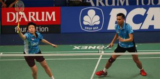Tontowi Ahmad/Liliyana Natsir do not want to be burdened by any target at the Indonesia Open