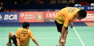 Mohammad Ahsan/Hendra Setiawan lost to Zhang Nan/Fu Haifeng at Indonesia Open semis. (photo: Badminton Indonesia)