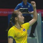 Ratchanok Intanon brings back the gold for Thai women at SEA Games.
