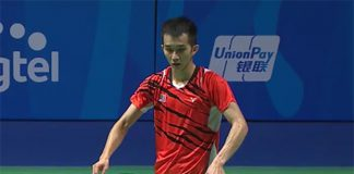 Chong Wei Feng had an easy first round match against Pham Cao Cuong.